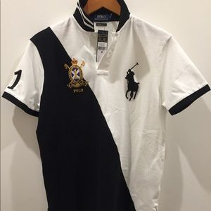 White & Black Ralph Lauren Polo